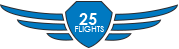 Completed 25 Flights