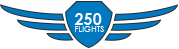 Completed 250 Flights