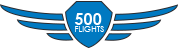 Completed 500 Flights